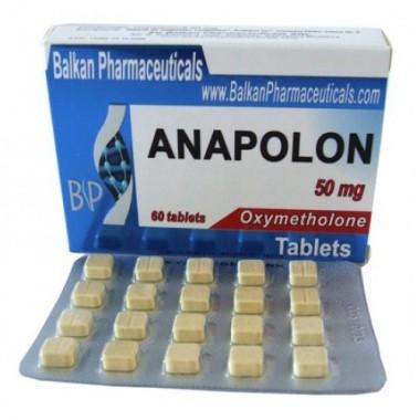 Anapolon Анаполон 50 мг, 100 таблеток, Balkan Pharmaceuticals в Астане