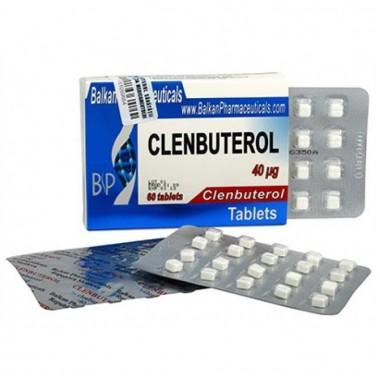 Clenbuterol Кленбутерол 40 мкг, 100 таблеток, Balkan Pharmaceuticals в Астане