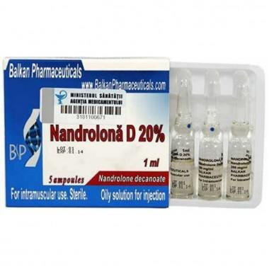 Nandrolona D 20% Нандролон Деканоат 200 мг/мл, 10 ампул, Balkan Pharmaceuticals в Астане