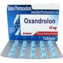 Oxandrolon Оксандролон 10 мг, 100 таблеток, Balkan Pharmaceuticals