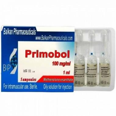 Primobol Примоболан 100 мг/мл, 10 ампул, Balkan Pharmaceuticals в Астане