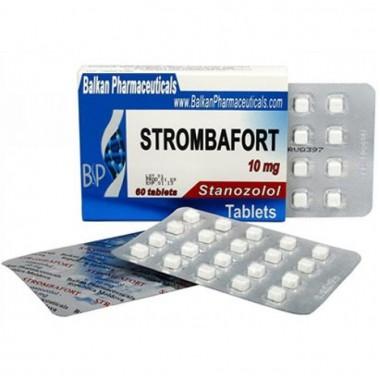 Strombafort Стромбафорт 10 мг, 100 таблеток, Balkan Pharmaceuticals в Астане