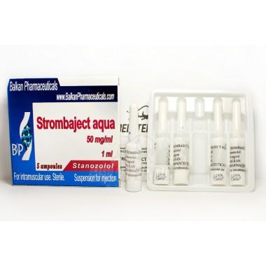 Strombaject aqua Стромбаджект аква 50 мг/мл, 10 ампул, Balkan Pharmaceuticals в Астане