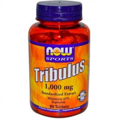 Tribulus Трибулус 1000 мг, 90 таблеток, Now Sports в Астане
