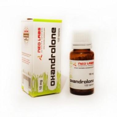 Oxandrolone Оксандролон 10 мг, 100 таблеток, Neo Labs в Астане
