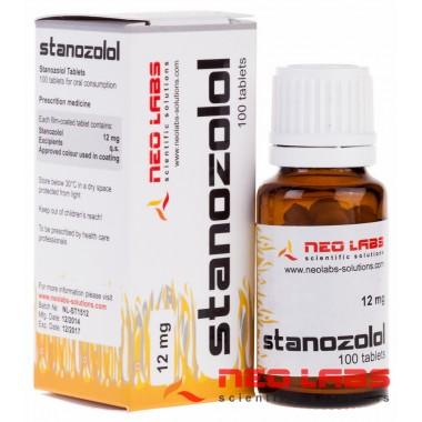 Stanozolol Станозолол 12 мг, 100 таблеток, Neo Labs в Астане