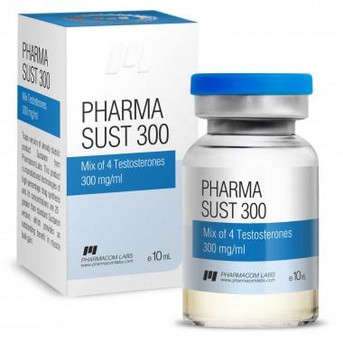 PHARMASUST 300 Тестостерон Микс 300 мг/мл, 10 мл, Pharmacom LABS в Астане