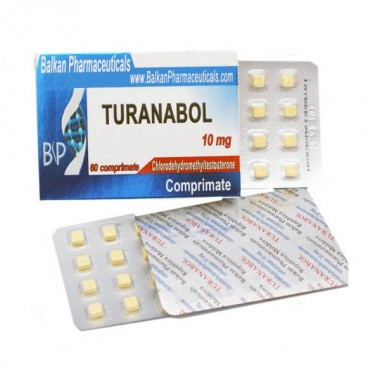 Turanabol Туринабол 10 мг, 100 таблеток, Balkan Pharmaceuticals в Астане