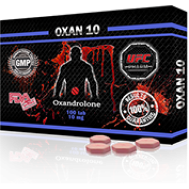 OXAN 10 Оксандролон 10 мг, 100 таблеток, UFC PHARM в Астане