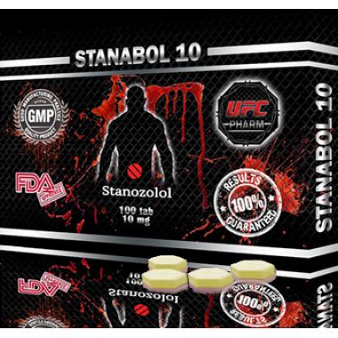 STANABOL 10 Станабол 10 мг, 100 таблеток, UFC PHARM в Астане
