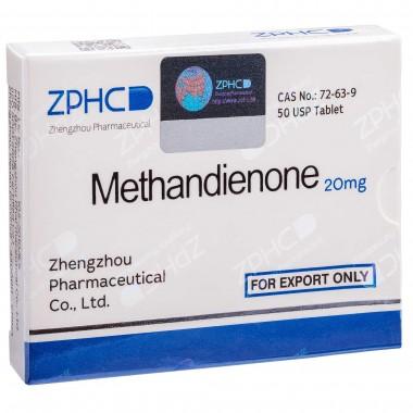 Methandienone Метандиенон 20 мг, 50 таблеток, ZPHC в Астане