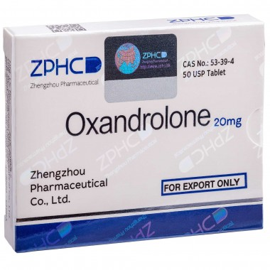 Oxandrolone Оксандролон 20 мг, 50 таблеток, ZPHC в Астане