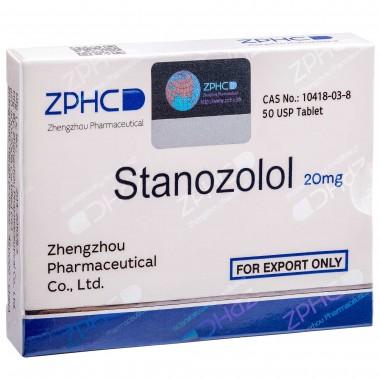 Stanozolol Станозолол оральный 20 мг, 50 таблеток, ZPHC в Астане