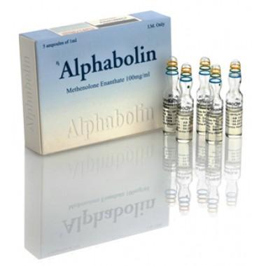 Alphabolin (Метенолон) Alpha Pharma 10 ампул по 1мл (1амп 100 мг) в Астане