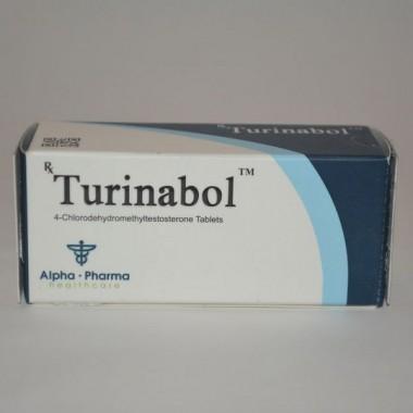 Turinabol (Туринабол) Alpha Pharma 50 таблеток (1таб 10 мг) в Астане
